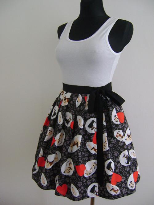 Zavinovací sukně 87