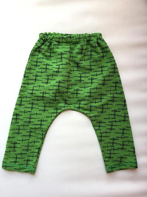 Zelené tepláčky