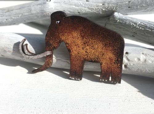 Dřevěné brože - Mamut