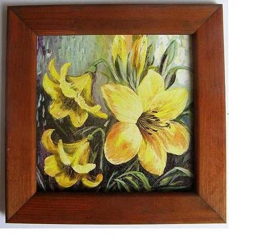 Obrázek č.M81 - Žluté květy