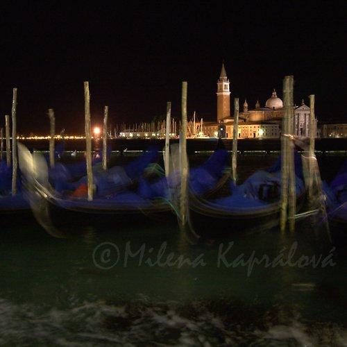 Noční Benátky
