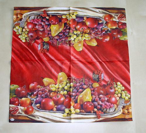 ubrousek ovoce krásný U685