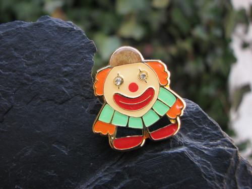 Malý klaun... bižuterní brož