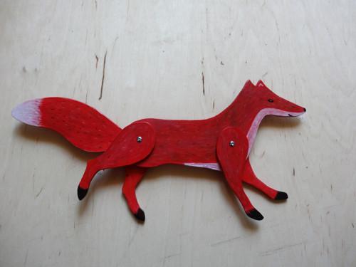 Liška pohyblivá