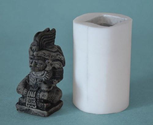 Forma na svíčky Mayská soška malá 8cm