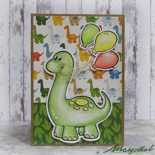 Narozeninový dinosaurus
