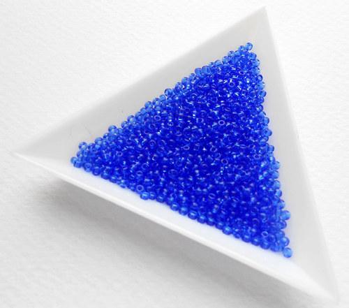 TOHO 11/0 Transparent Sapphire 10 g