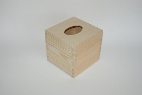 Krabička na kapesníčky čtvercová