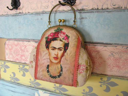 Frida v růžích - kabelka
