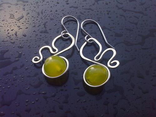 jadeit zelený 4(hypoalergenní)