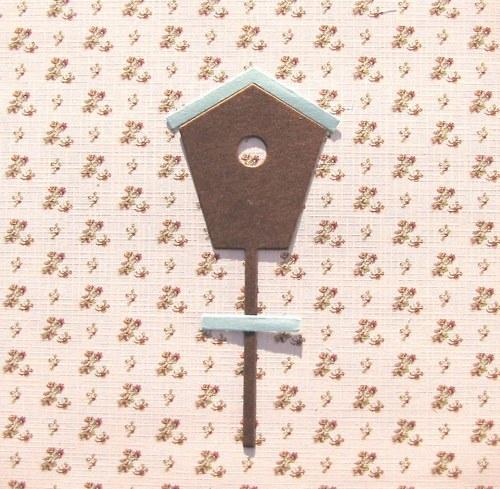 Budka na sloupku (9,9 cm)