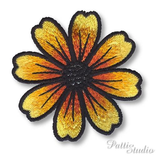 Nášivka - Květ