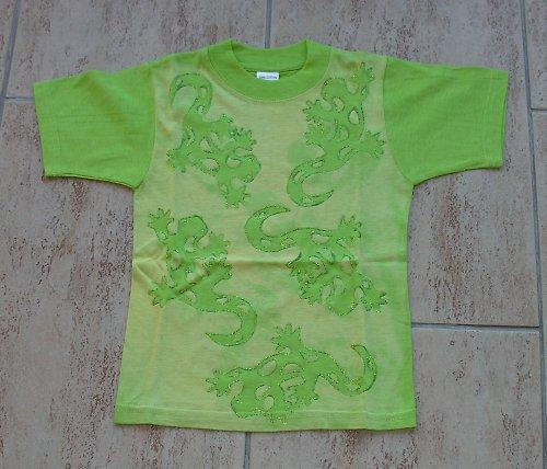Malované dětské tričko - SLEVA!!!