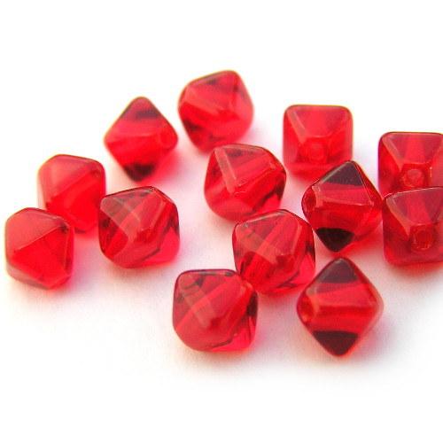 6 mm Lucerny pyramidky červené siam 30 ks