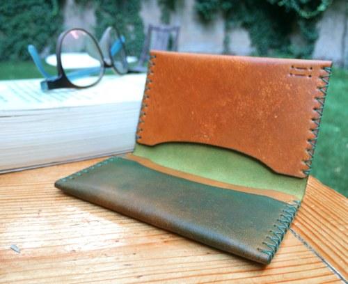 Malá kožená peněženka / pouzdro na karty