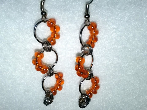 Náušnice, Orange dream