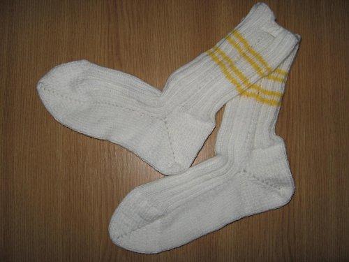 Sněhobílé a teploučké - ponožky