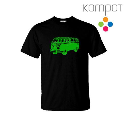 Pánské tričko MINIBUS :: černé, vel. S-2XL