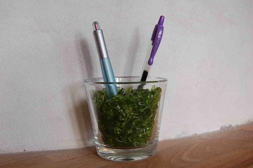 dekorační drť - zelinka