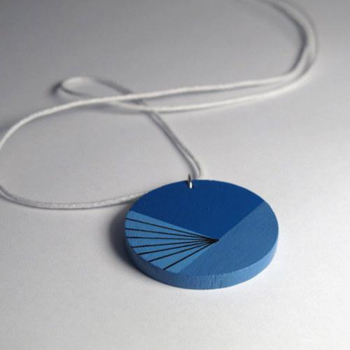 Přívěsek modrý