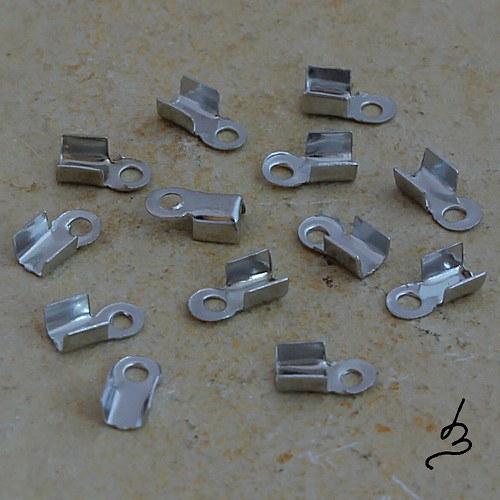 Koncovky na kůži PT 2,5x7 mm - 20 ks