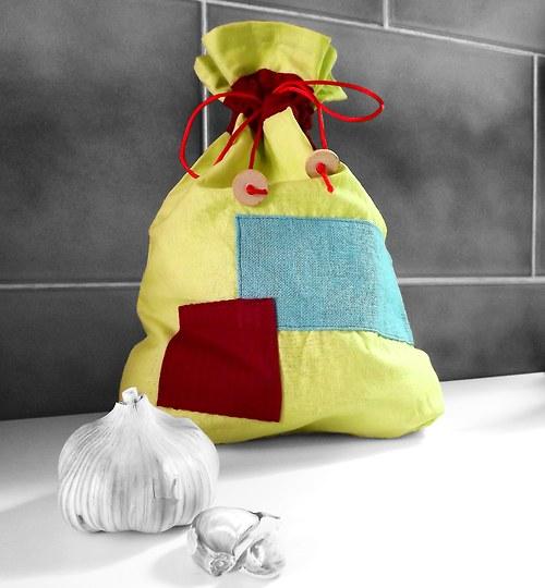 Textilní pytlík nejen na česnek...