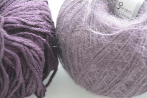 Příze fialová