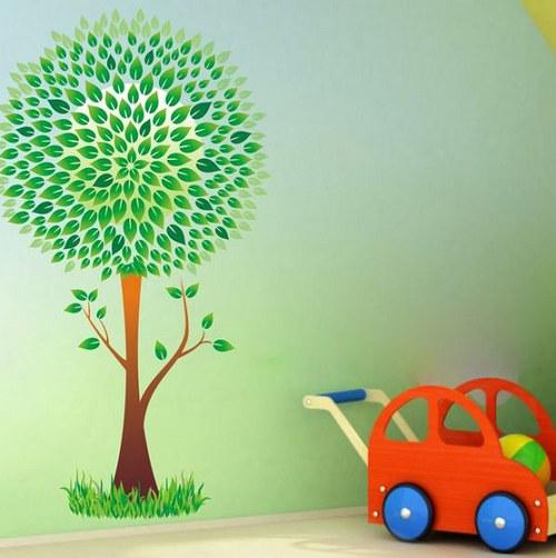 Farebná nálepka 2633f Strom