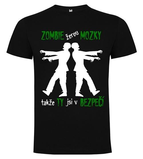 Tričko se zombie