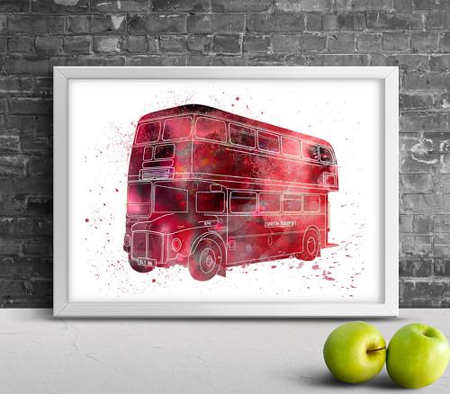 Londýnský autobus Double Decker