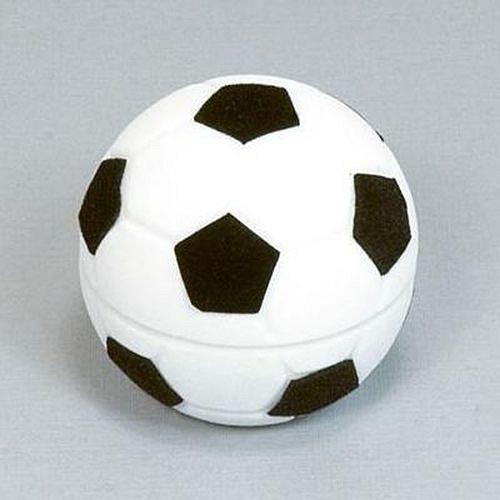 Černo-bílý fotbalový míč - krabička na šperky