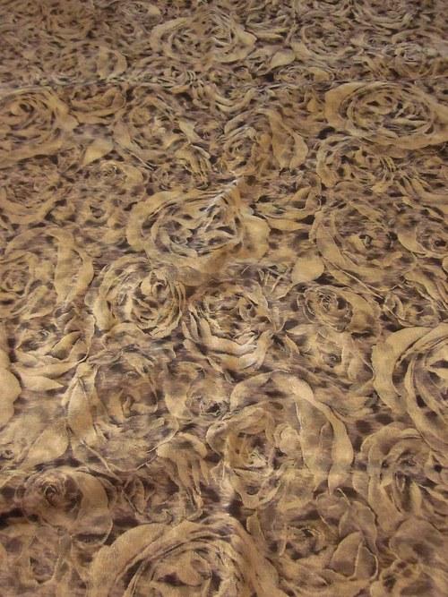 Žakarová tkanina Zľava 50%