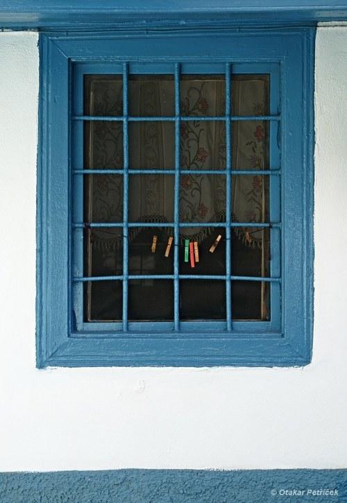 Modré okénko