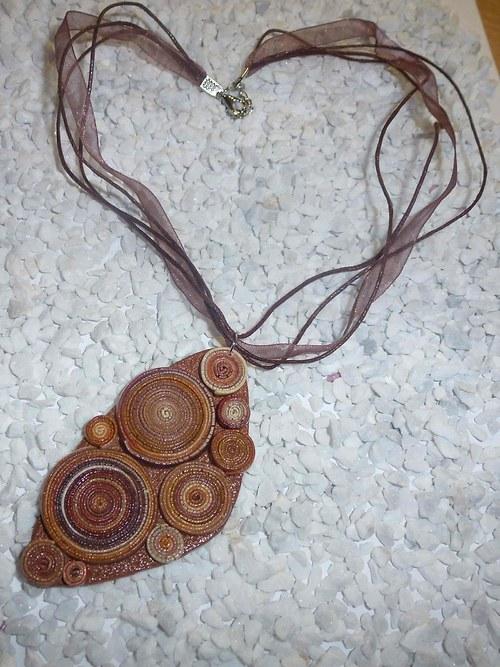 Spirálkový náhrdelník