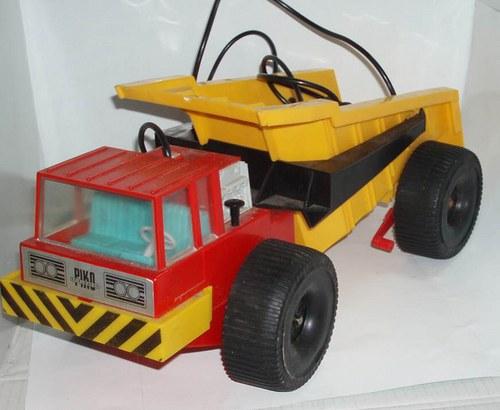 PIKO - sklápěčka KOLOS - bowden - 80.tá léta