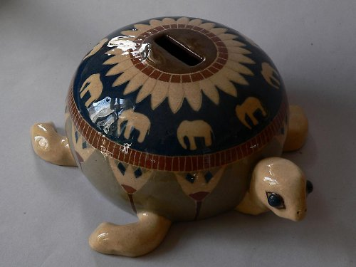 Pokladnička  želva 25cm