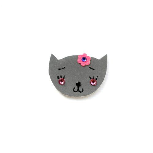 Reflexní brož kočička Žofinka