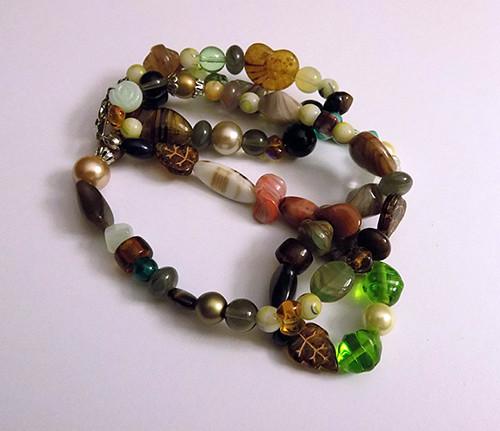 Lesní bažiny - náhrdelník