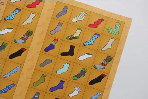 Třídění ponožek