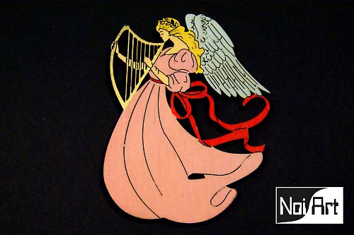 Anjel s harfou