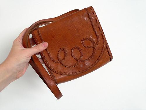 Kožená vintage kabelka 19