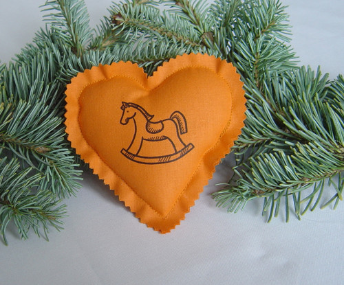Vánoční srdíčko OR 33
