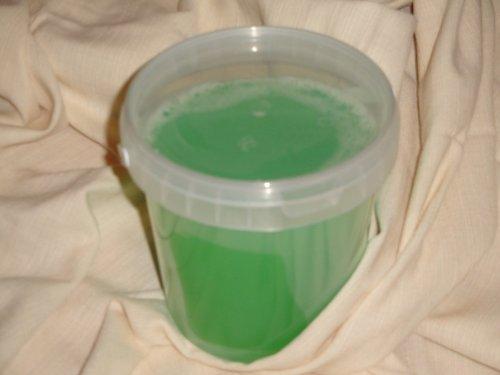 Zelená mýdlová hmota - 1 kg