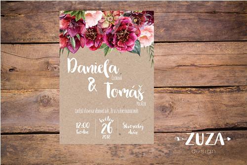 Svatební oznámení no.37