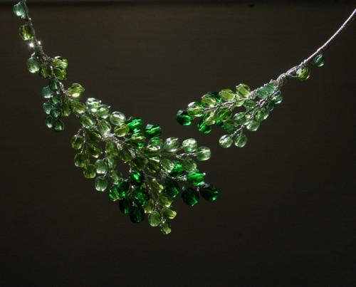 náhrdelník z kapradí