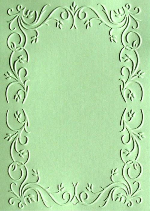 Obdélníkové orámování - barva podle přání