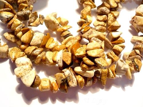 Minerální zlomky 90 cm - jaspis pískový
