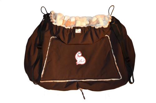Softshellová kapsa na manducu / nosítko / šátek