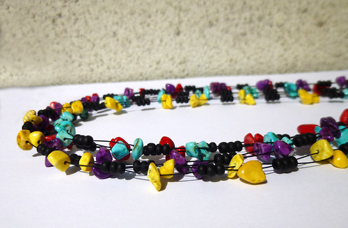 náhrdelník proplétaný zlomkový