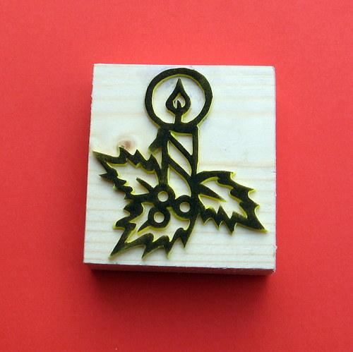 vánoční svíce
